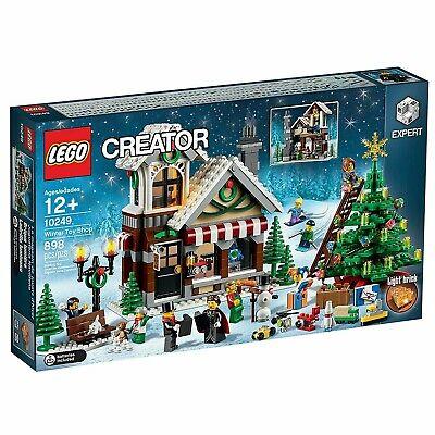 Lego Creator Winter Toy Shop 10249 Holiday Christmas Rare Item Reasonable Price
