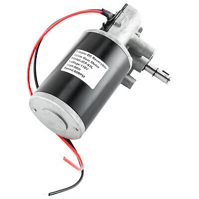 Reducing Electric Gearbox Motor 80w 60rpm Reversible Worm Gear Motor Durable