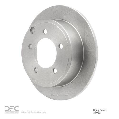 Rear Brake Rotor Disc Premium OE Factory Replacement-Single Piece OE263