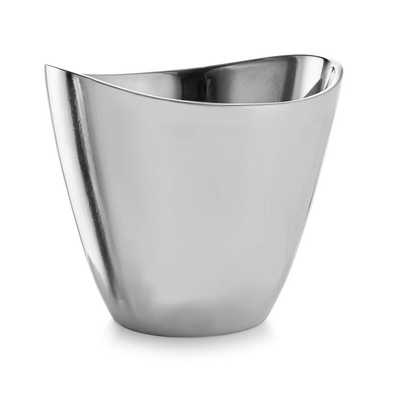 Nambe Vie Alloy Champagne Bucket 7.5 Inches High - Perfect Wedding Gift - Elegan