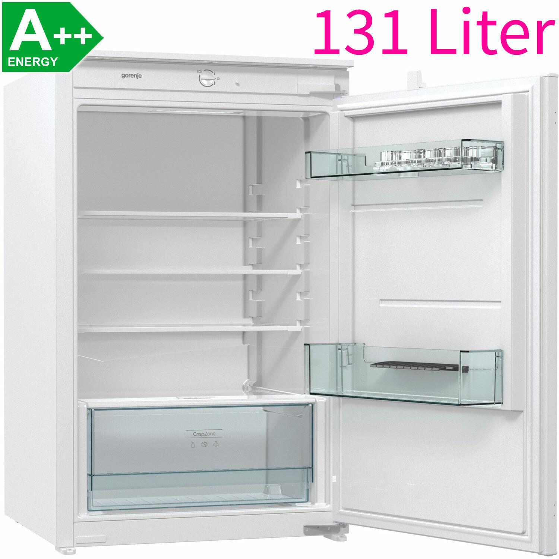 Gorenje 88 cm A++ Vollraum Einbau Kühlschrank ohne Gefrierfach integrierbar 35dB