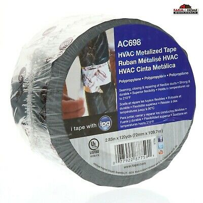 Hvac Metal Repair Aluminum Foil Tape 2.83 X 120yds New