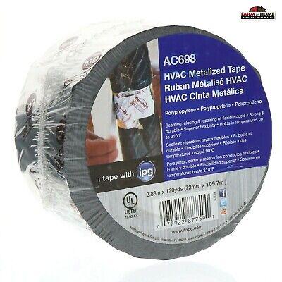 Hvac Metal Repair Aluminum Foil Tape 2.83 X 120yds New