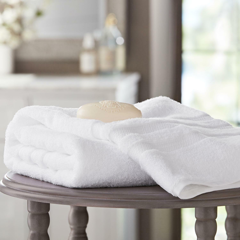 Hotel Premier Collection 100% Cotton Luxury Bath Towel WHITE