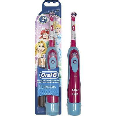 Oral-B Stages Power Eléctrico Infantil Cepillo, Surtido Disney, con Batería