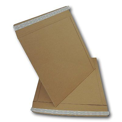10 X 12 Lp Strongest All Board Peel Seal Brown Record Mailers 625gsm