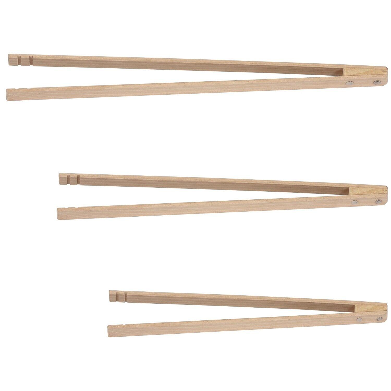 Bütic Profi Grillzange aus Holz