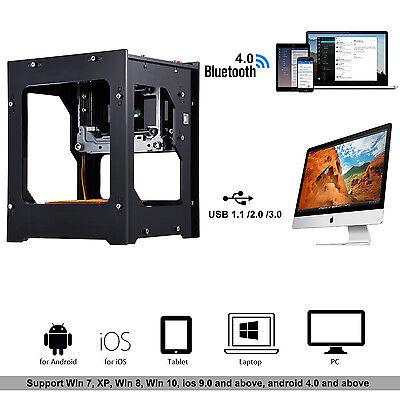1500mw Bluetooth Laser Engraving Machine Depth Engrave F Woodplasticrubber Lj