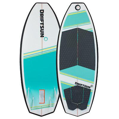 "Driftsun Throwdown Wakesurf Board - 4' 8"" Epoxy Fiberglass Wakesurfer"