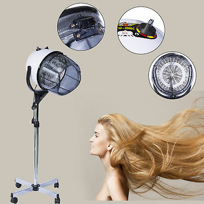 Homcom Haartrockner Haartrockenhaube Trockenhaube Haube Standfuß 1100 Watt Neu