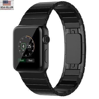 Replacement For Apple Watch Band 42Mm Stainless Steel Butterfly Link Bracelet
