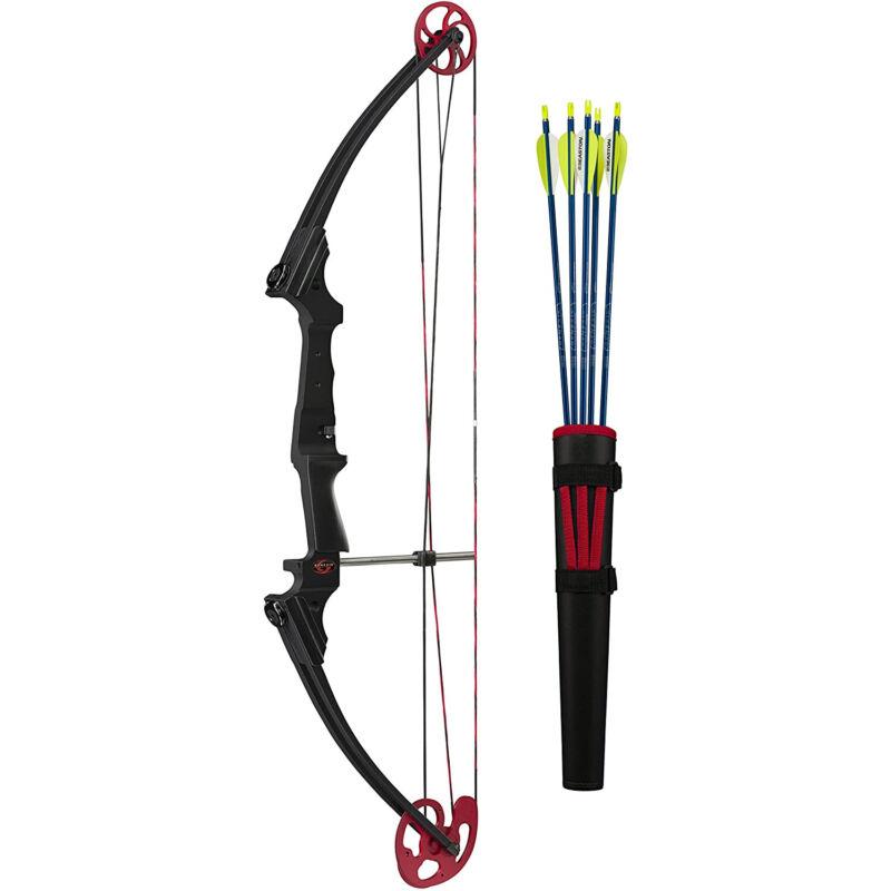 Genesis Archery 12239 Original Black Compound Training Bow Kit, Left Handed