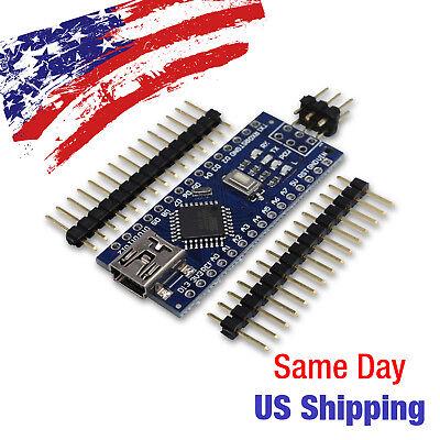 Arduino Nano V3.0 Micro Controller ATmega328 16M 5V CH340G Ships Today from USA