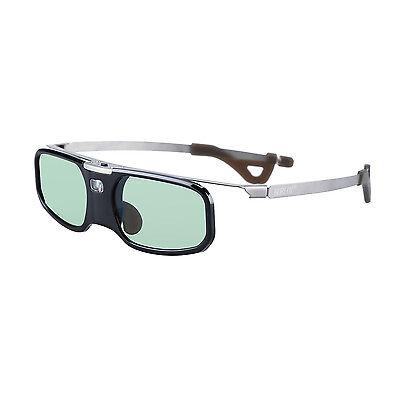 BOBLOV RX-30S DLP-Link 3D aktive Shutterbrille schwarz für LG Dell Acer Optoma