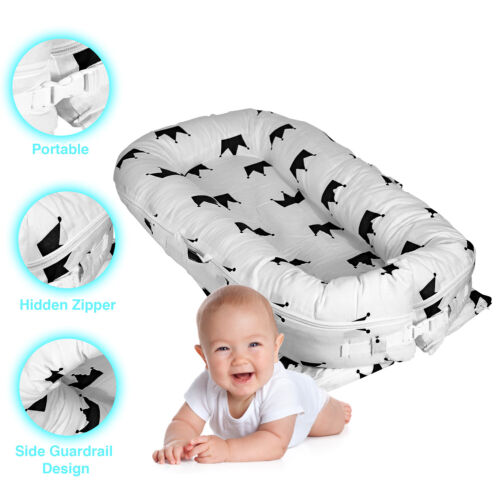Baby Lounger Nest, Comfortable Sturdy Bed, For Sleeping Infants