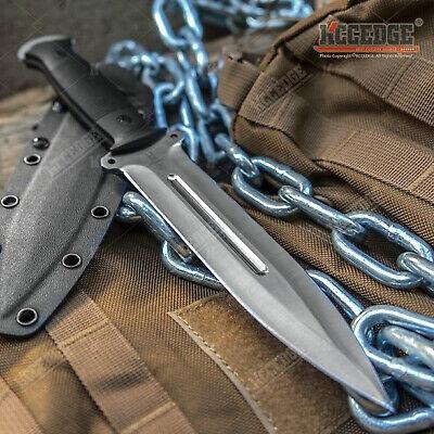 "12"" Full Tang Knife 6.5"" Blade 8cr13MOV Stainless Steel w/ Kydex & G10"