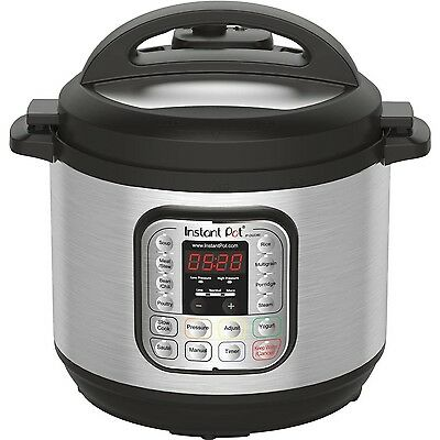 Instant Pot 7-In-1Multi-Use Programmable Pressure Cooker 8 Q