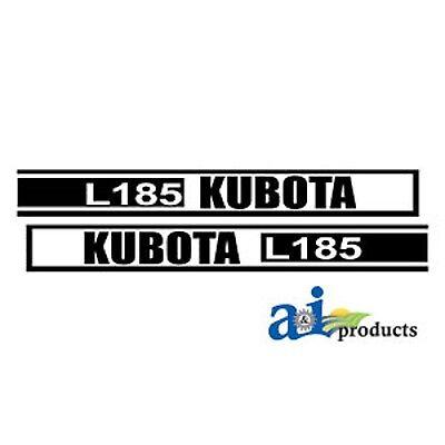 Kubota L185 Tractor Decal Set