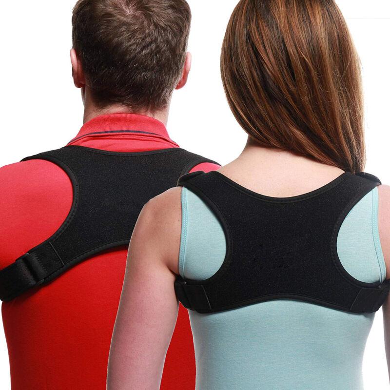 Posture Corrector Adjustable Upper Back Shoulder Belt Suppor