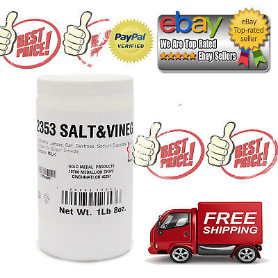 Gold Medal Salt Vinegar Savory Popcorn Seasoning 1.5 Lbs.