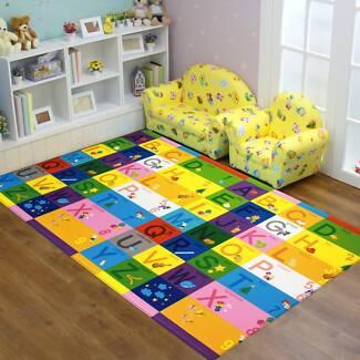Dwinguler Baby Play Mat 1.9x1.3m Zoo Alphabet Reversible  Rug Scullin Belconnen Area Preview