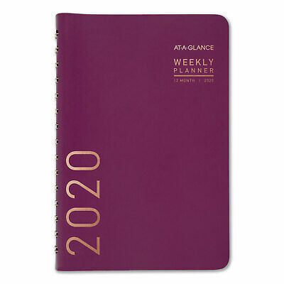 At-a-glance Contemporary Weeklymonthly Planner 8 X 4 78 Purple 2020 70108x59