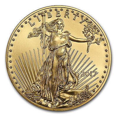 2017 1 oz Gold American Eagle Coin Brilliant Uncirculated - SKU #117271