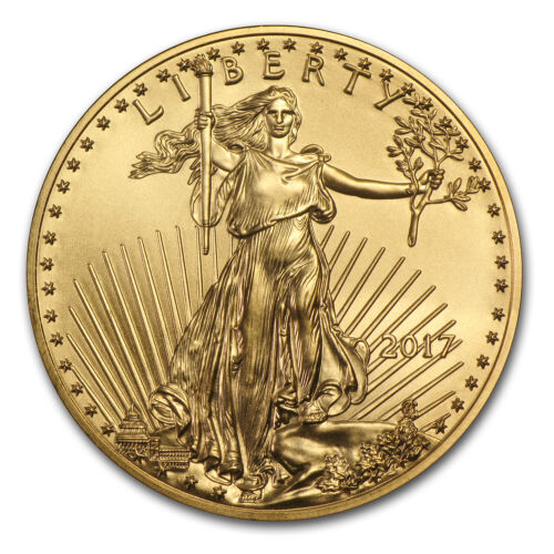 2017 1 oz Gold American Eagle Brilliant Uncirculated - SKU #117271