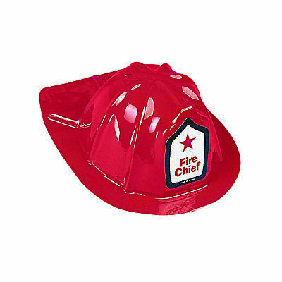 12 Firefighter Chief Hats Fun Favors Costume School Firemen Birthday Party Event](Firefighter Party Hats)