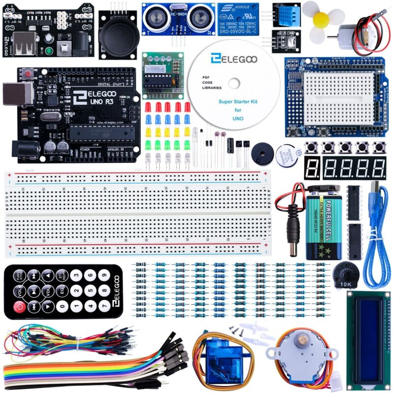 ELEGOO UNO R3 Project Super Starter Kit (Used)