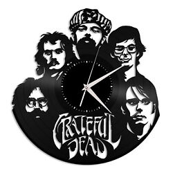 Grateful Dead Vinyl Wall Clock Unique Music Art Design Office Home Decoration