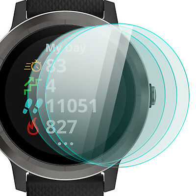 3x Display Schutz Glas für Garmin Vivo Active 3 - Folie Schutzpanzer Glasfolie