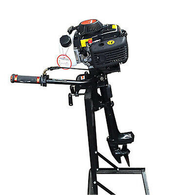 4hp 4stroke Outboard Motor Marine Engine Air Cooling Fishing Boat Yacht Engine