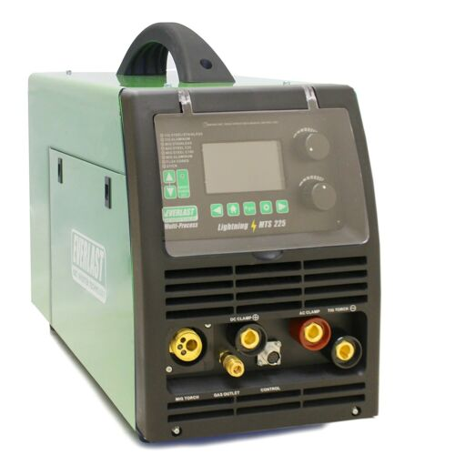 LightningMTS 225 AC/DC Pulse TIG / MIG Synergic / Stick 200 Amp Dual Voltage