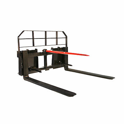 Titan Attachments Hd Pallet Fork Attachment 36 Forks Hay And Stabilizer Spears