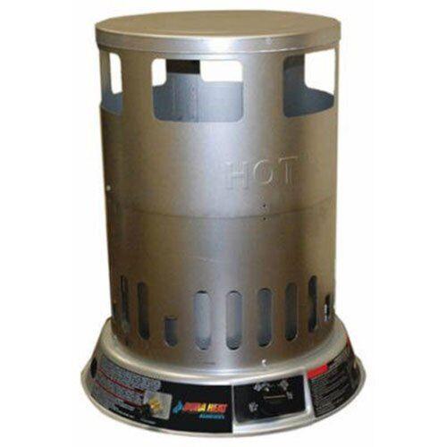 Dura Heat Trash Can Propane Convection Heater Silver LPC80