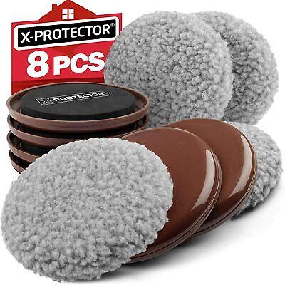 Furniture Sliders X-PROTECTOR - Multi-Surface Sliders for Carpet - Furniture Mov