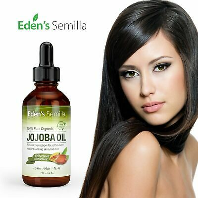 Jojoba Oil. Best Rated 100% Pure Organic. 4floz. Eden's Semilla  (Best Rated Skin Care Products)