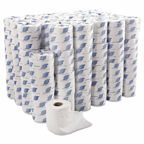 Soft Toilet Pape 96 ROLLS IN BOX  GEN 2-Ply White 300 Sheets SEPTIC SAFE BULK