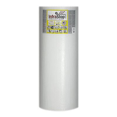 Infrastop 48 X 100 Double Bubble White Reflective Foil Insulation