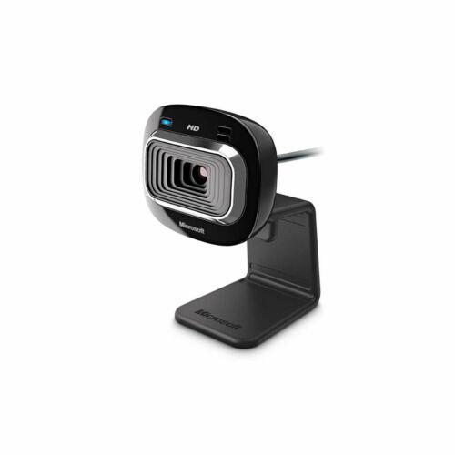 Microsoft Lifecam HD-3000 Webcam 720p Skype gute Belichtung Rauschunterdrückung