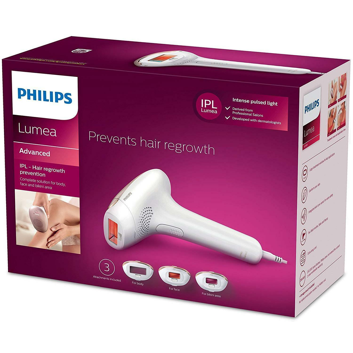 Philips Lumea Advanced SC1999/00 IPL Hair Removal System for