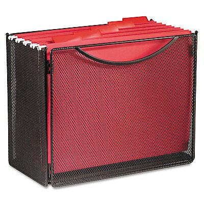 Safco Desktop File Storage Box Steel Mesh 12-12w X 7d X 10h 2169bl