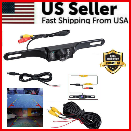 Wide 170° Night Vision Car Rear View Reverse Backup Parking Camera Waterproof