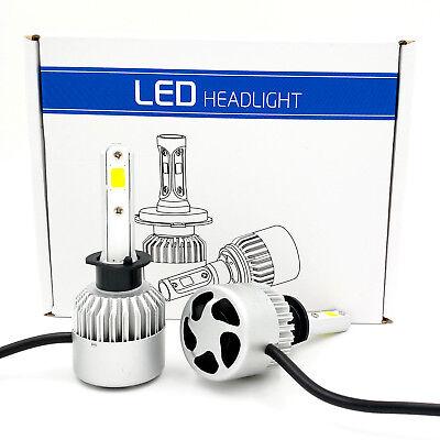 H1 1020W 153000LM CREE LED Headlight Kit High or Low Beam Bulb Xenon 6000K Power