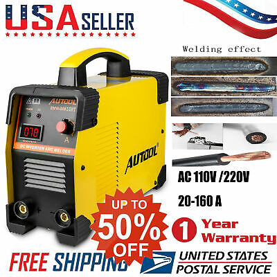 Mma Arc Welding Machine 110v220v Portable Dc Igbt Inverter Welder Us