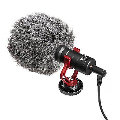 BOYA BY-MM1 Universal Cardiod Shotgun Microphone MIC Video for Smartphone Camera