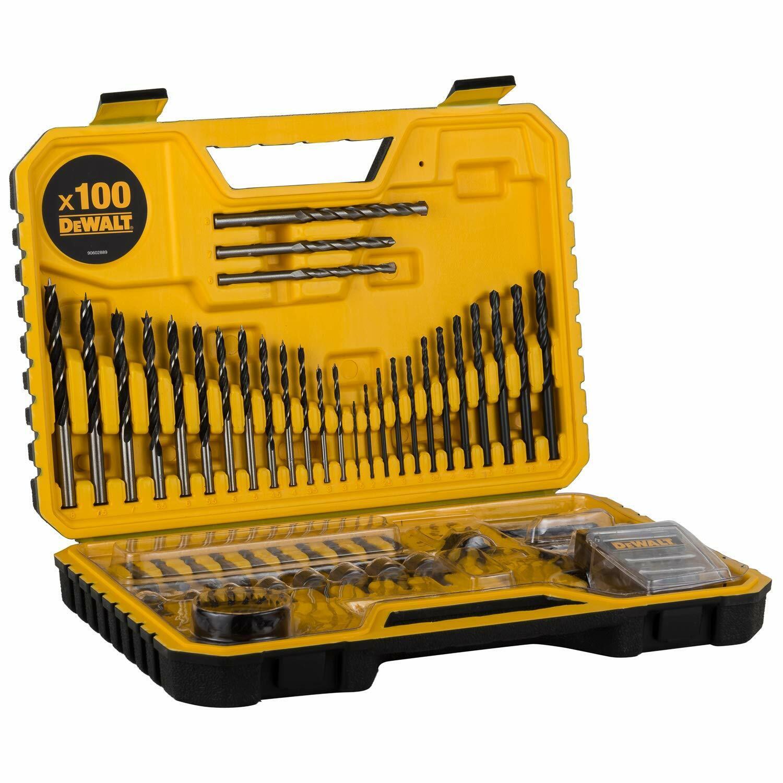 Dewalt Combination Drill Bit Set,100 Pieces   DT71563-QZ