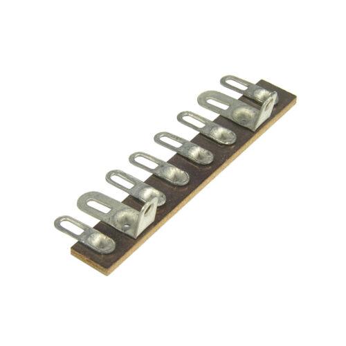 8 Lug Terminal Strip 2 Common Phenolic Solder Lugs