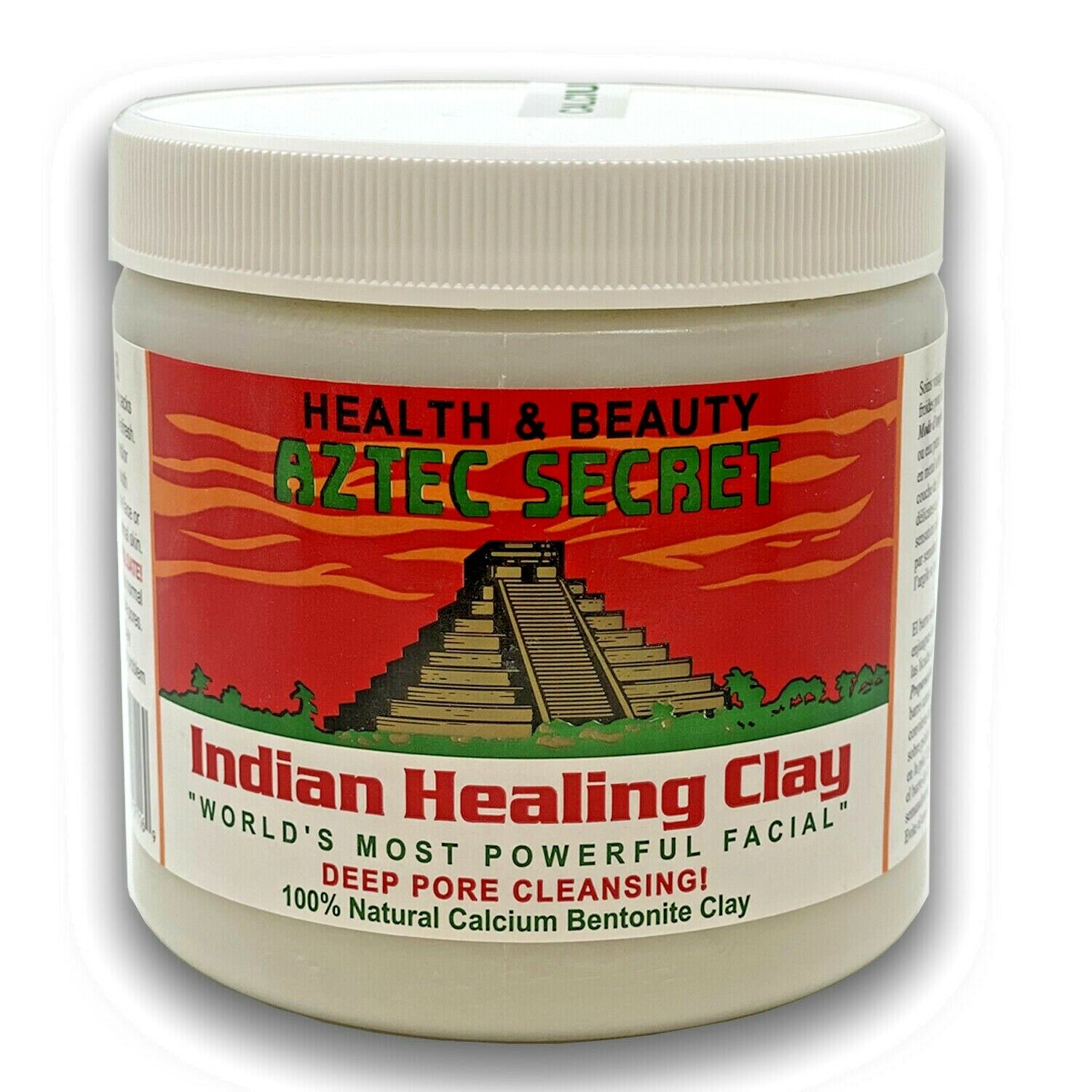 Aztec Secret Indian Healing Clay Deep Pore Cleansing, 1 Poun